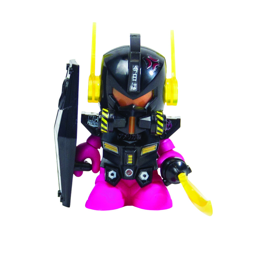 BOT MINI DAM GUN FIG BLACK ED