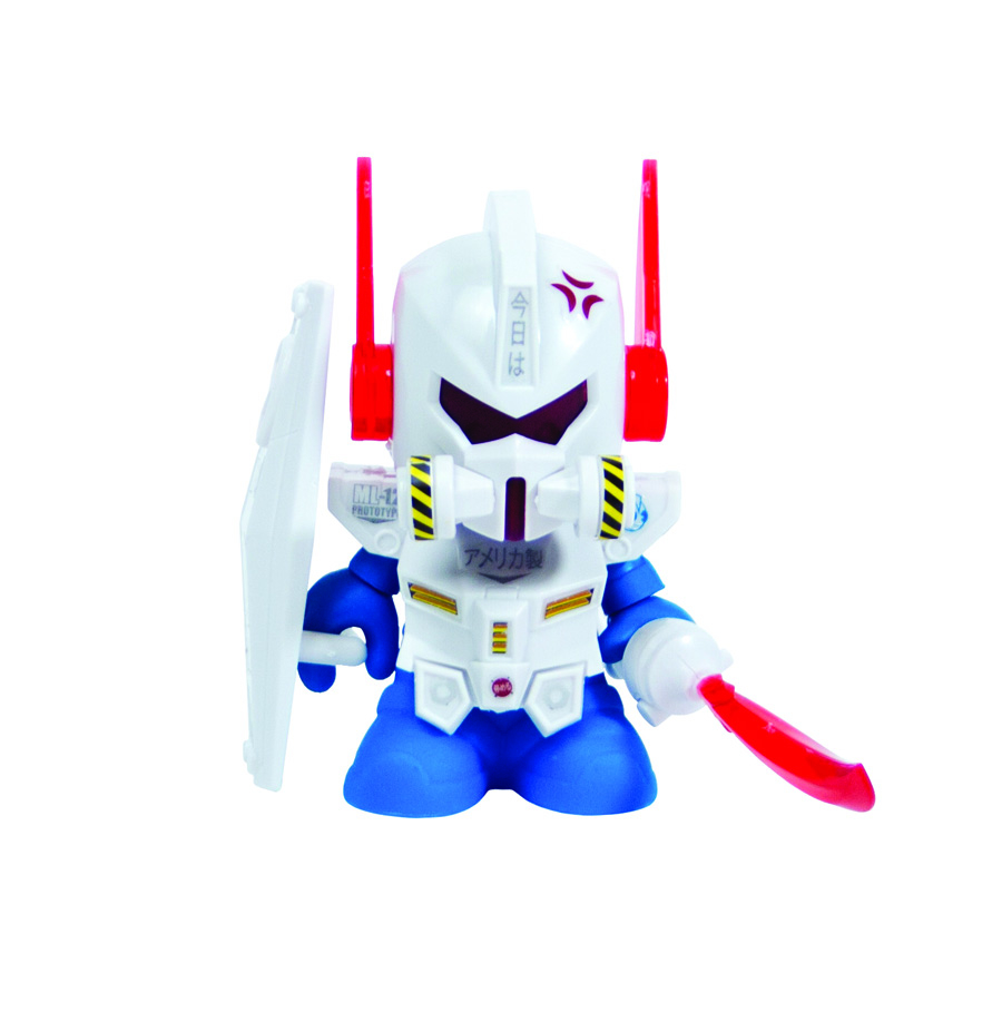 BOT MINI DAM GUN FIG WHITE ED