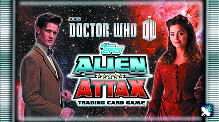 DOCTOR WHO ALIEN ATTAX TCG BOOSTER DS