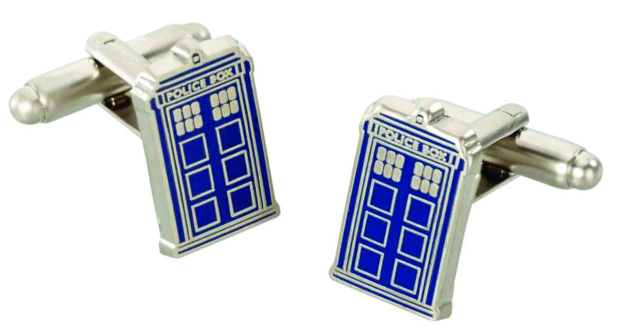 DOCTOR WHO TARDIS CUFFLINKS