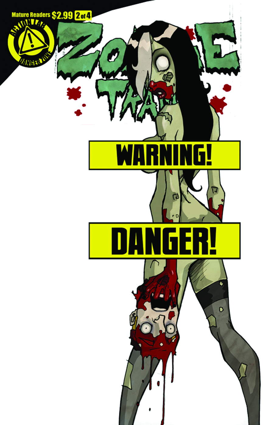 ZOMBIE TRAMP VOL 2 #2 (OF 4) RISQUE COVER