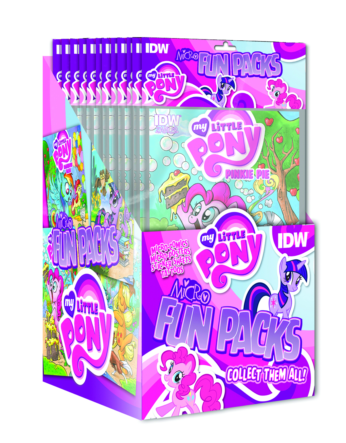 MY LITTLE PONY MICRO COMIC FUN PACK SER 1 DSP