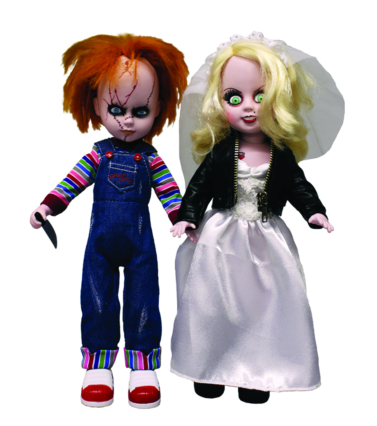 LIVING DEAD DOLLS CHUCKY & TIFFANY DOLL SET