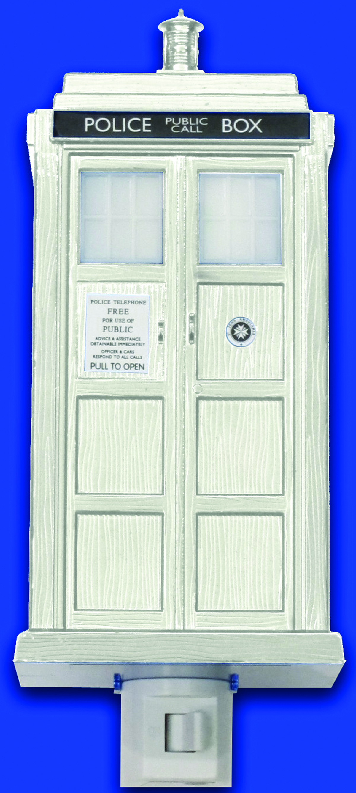 DOCTOR WHO 50TH ANNIV TARDIS NIGHT LIGHT LTD ED
