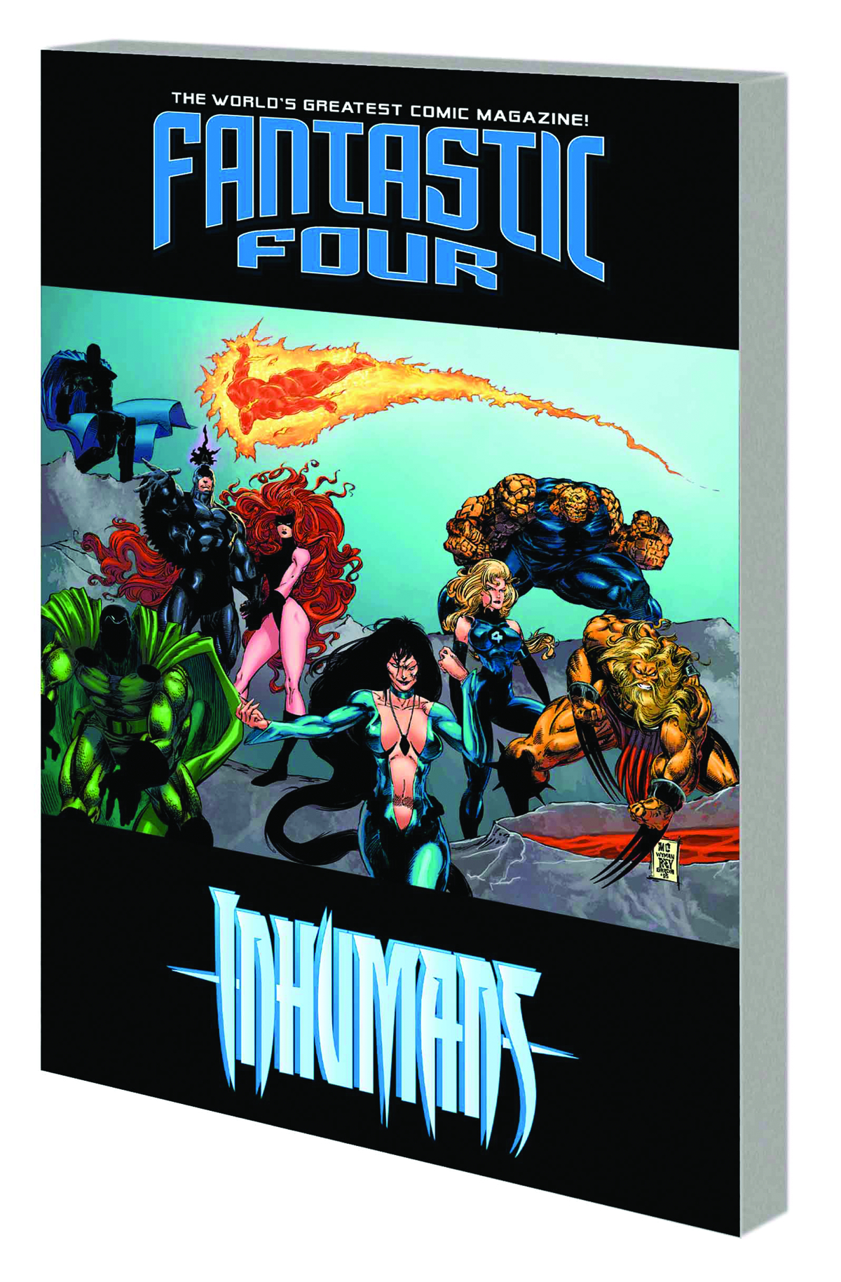 FANTASTIC FOUR INHUMANS TP ATLANTIS RISING