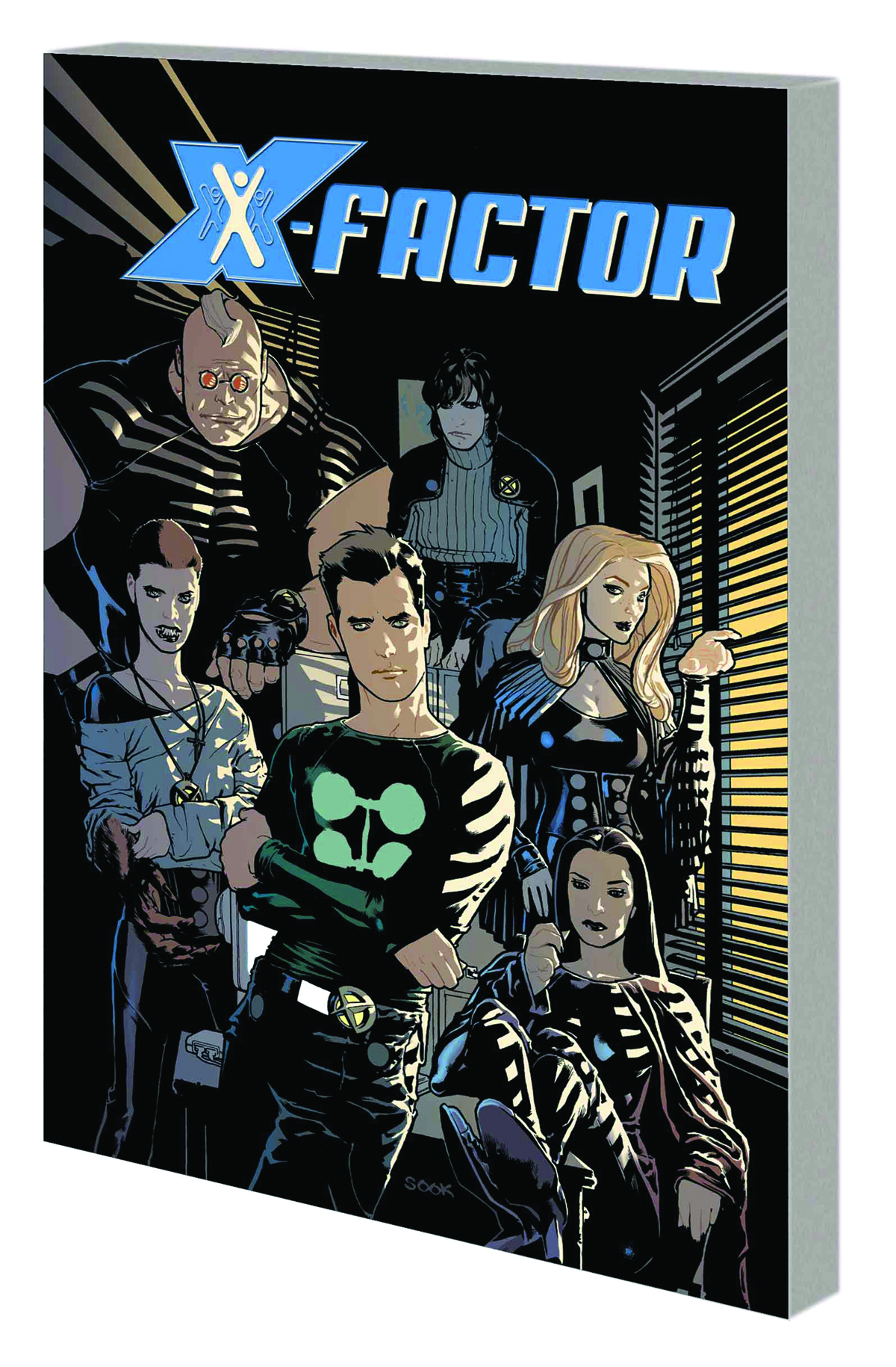 X-FACTOR BY PETER DAVID TP VOL 01 COMPLETE COLLECTION