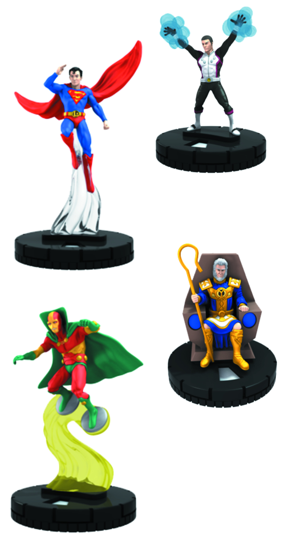 DC HEROCLIX LEGION OF SUPERHEROES 24 CT GRAVITY FEED