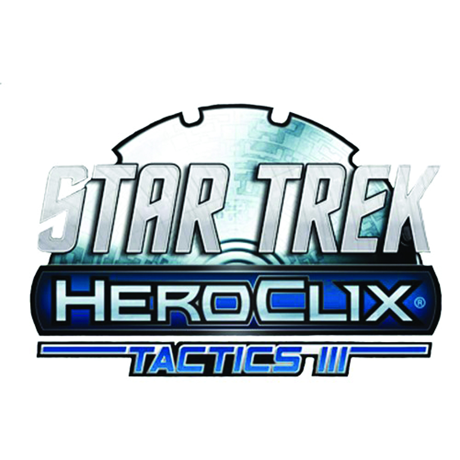 STAR TREK TACTICS HEROCLIX SERIES III 12 CT DISPLAY