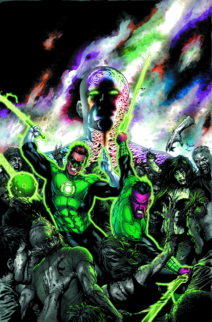 GREEN LANTERN WRATH OF THE FIRST LANTERN HC