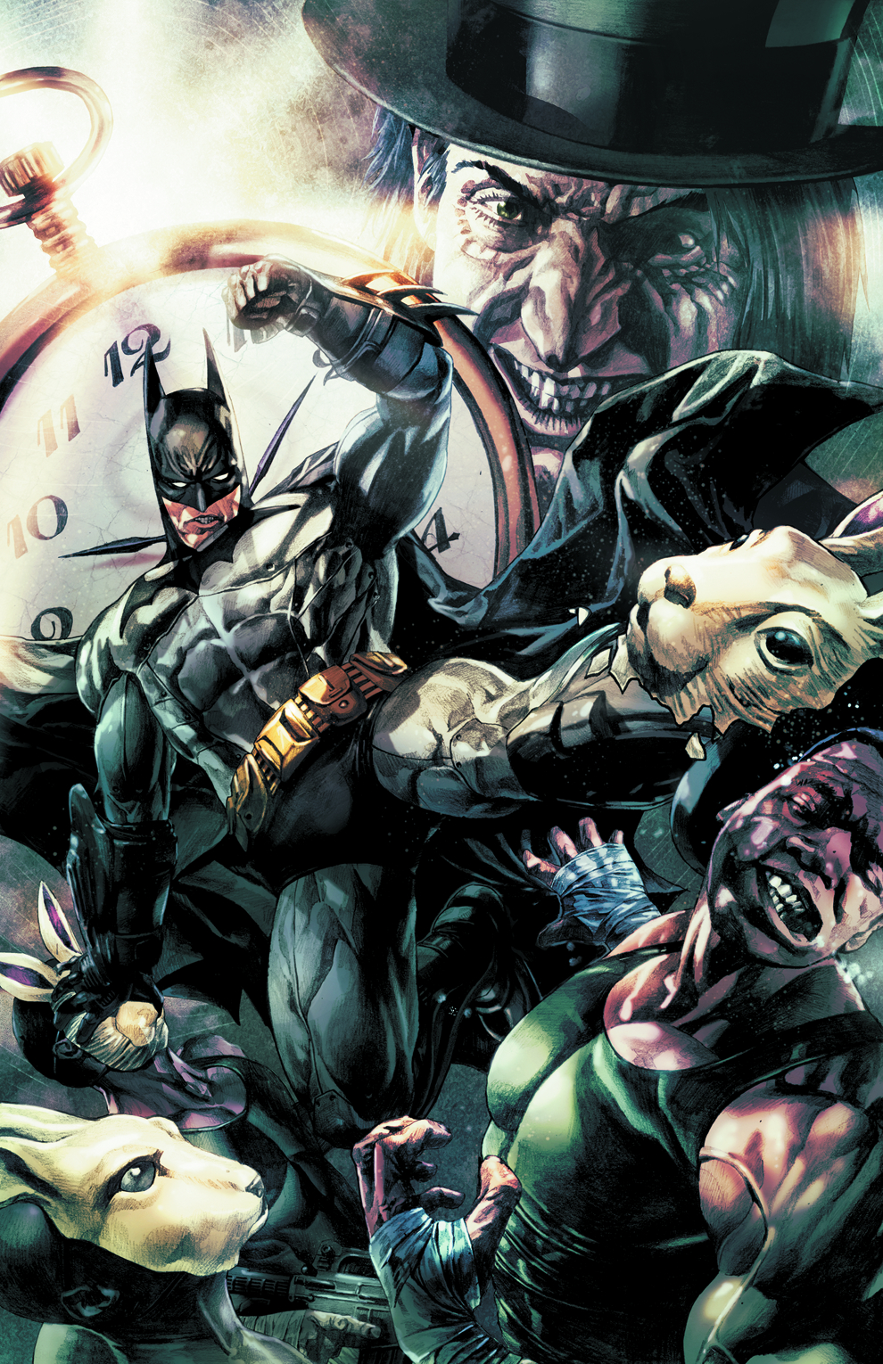 BATMAN ARKHAM UNHINGED TP VOL 02