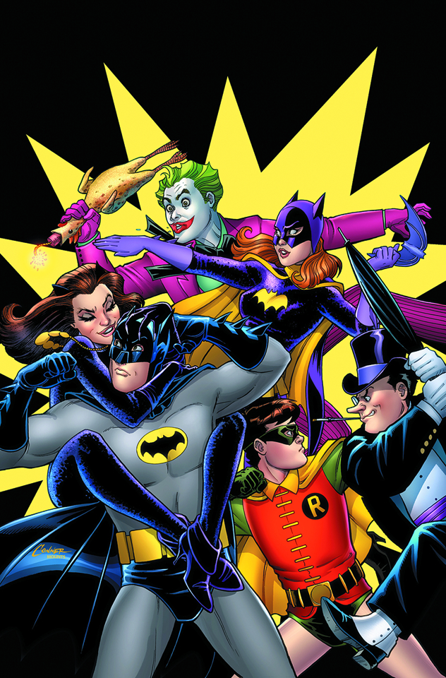 BATMAN 66 THE TV STORIES TP