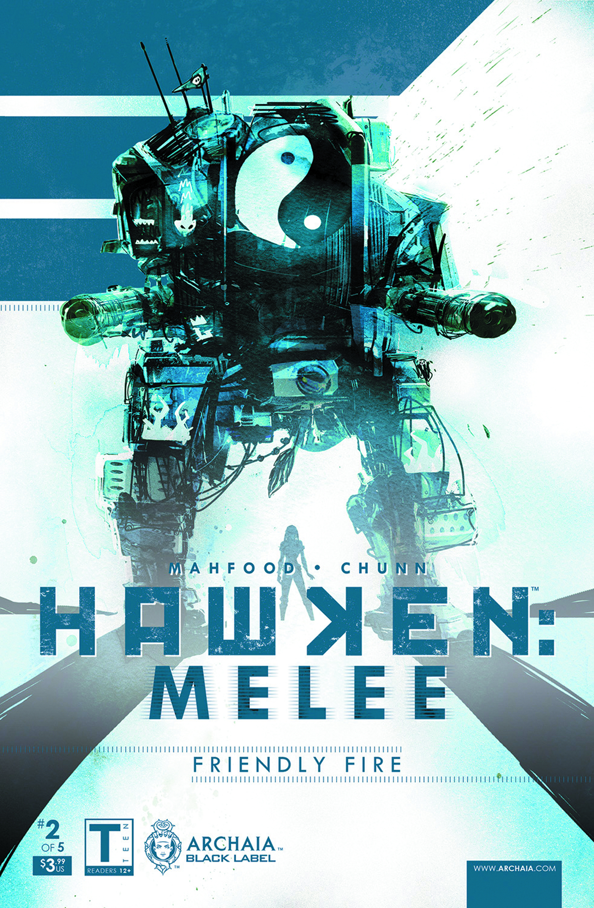 (USE DEC138263) HAWKEN MELEE #2