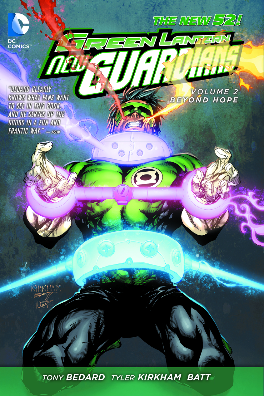 GREEN LANTERN NEW GUARDIANS TP VOL 02 BEYOND HOPE