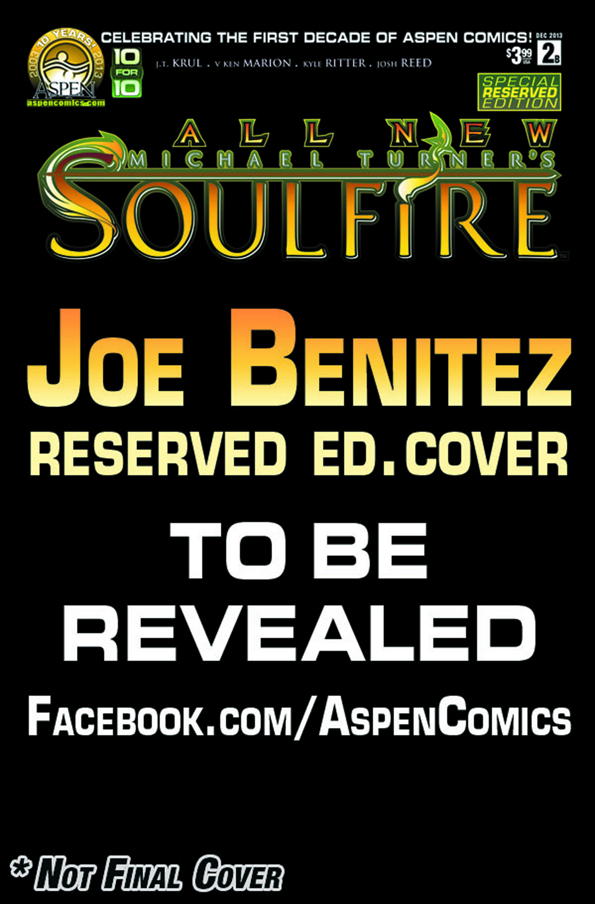 ALL NEW SOULFIRE #2 ASPEN RESERVED CVR
