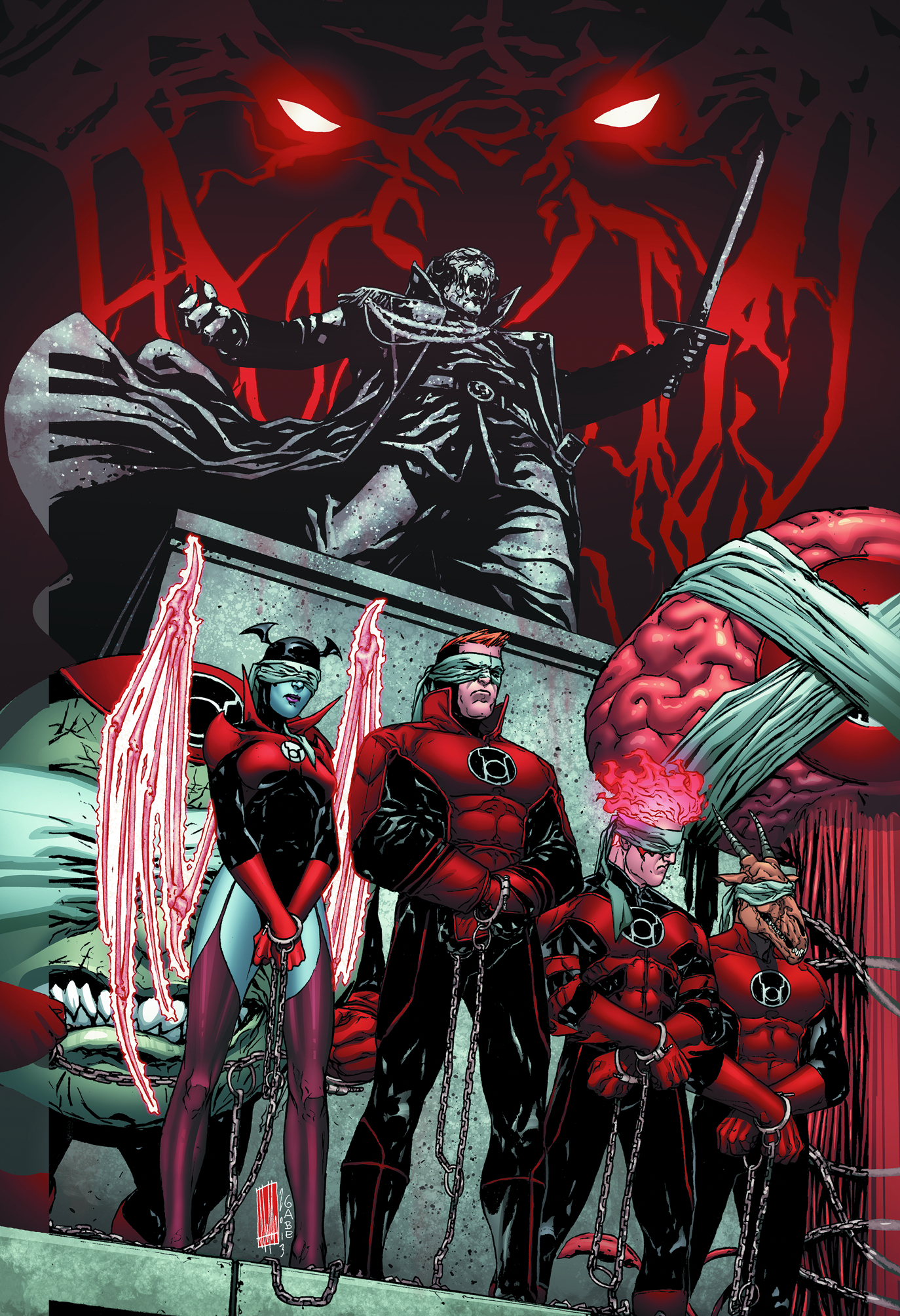 RED LANTERNS #26 VAR ED