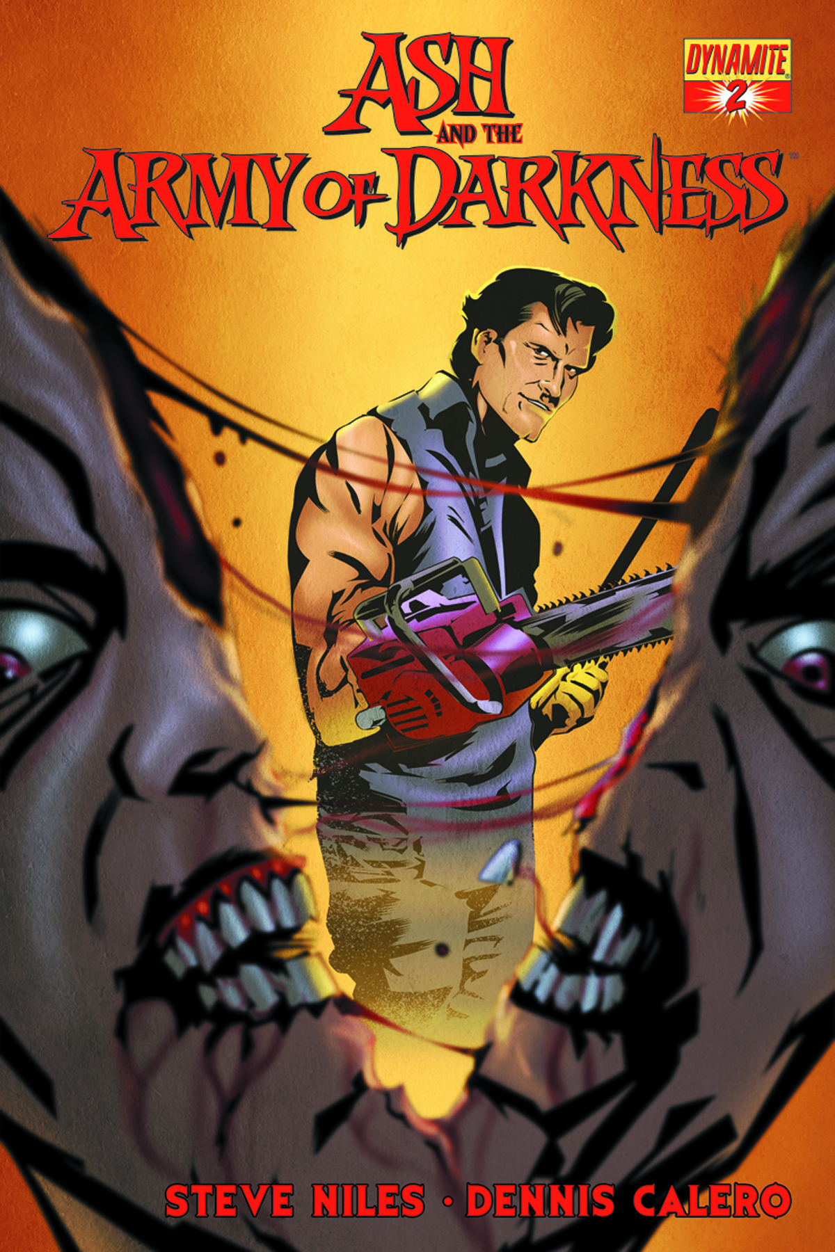 ASH & THE ARMY OF DARKNESS #2 CALERO SUBSCRIPTION VAR