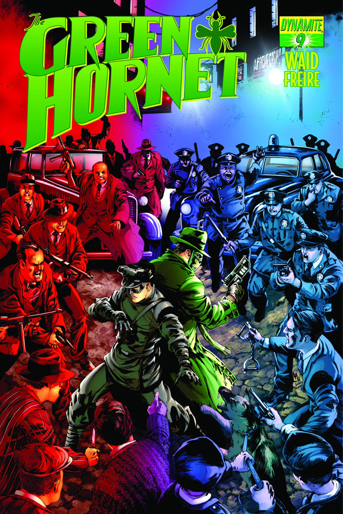 MARK WAID GREEN HORNET #9 LAU SUBCRIPTION VARIANT