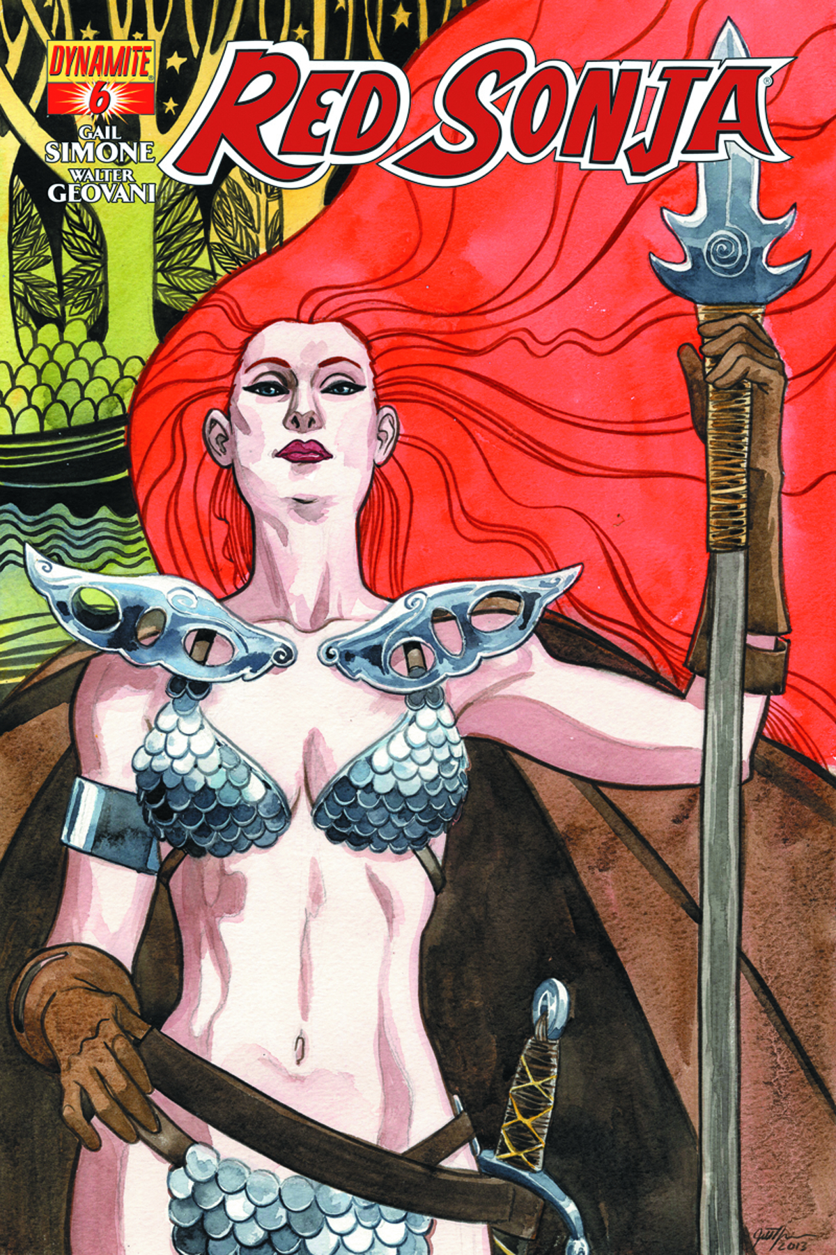 RED SONJA #6 THOMPSON CVR