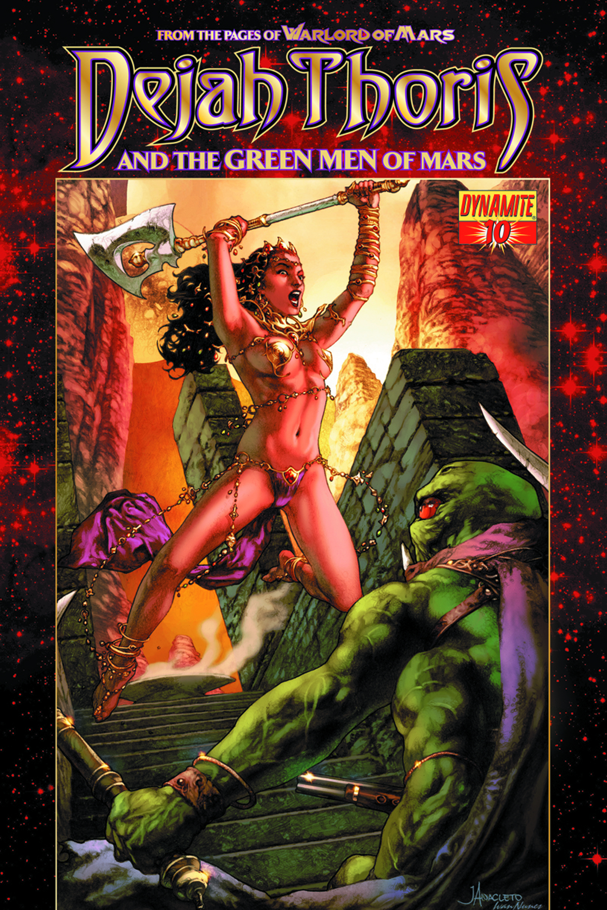 DEJAH THORIS & GREEN MEN OF MARS #10 (OF 12)