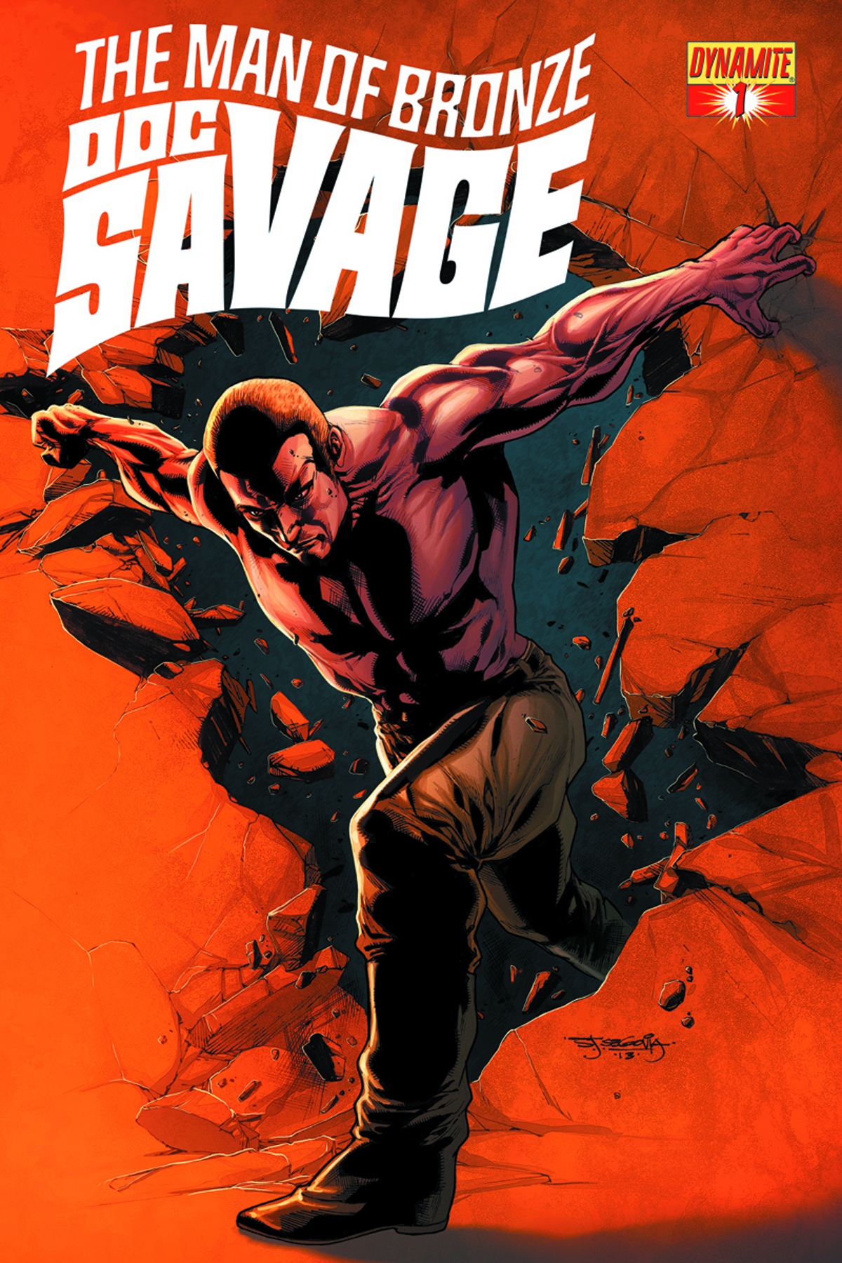 DOC SAVAGE #1 SEGOVIA RETAILER SHARED EXC ED