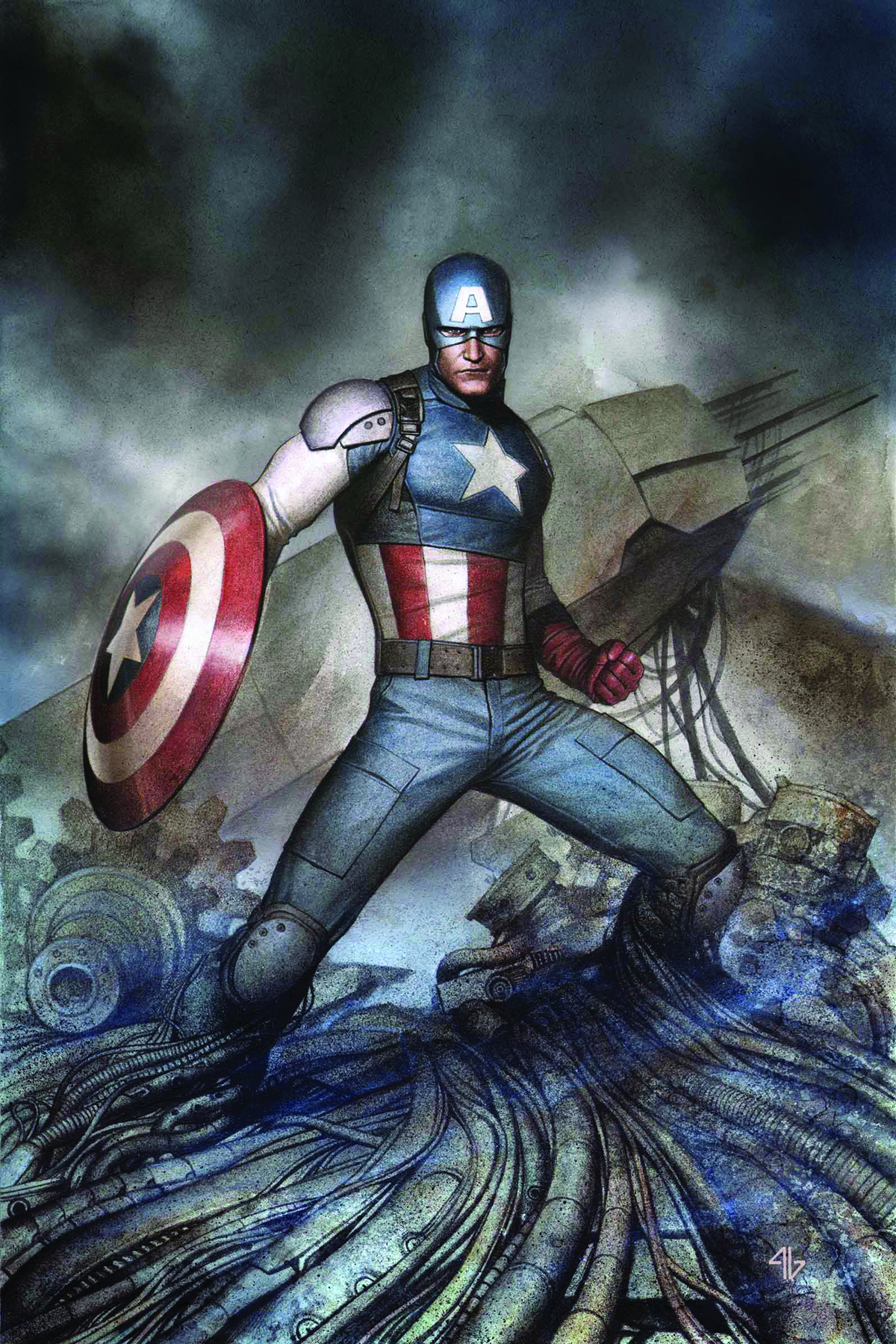 CAPTAIN AMERICA LIVING LEGEND #4