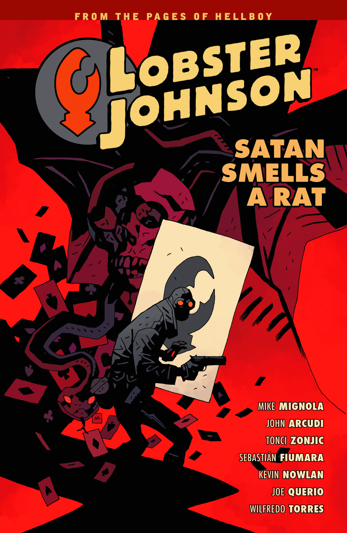 LOBSTER JOHNSON TP VOL 03 SATAN SMELLS A RAT