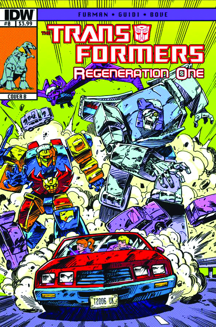 TRANSFORMERS REGENERATION ONE #0 2ND PTG