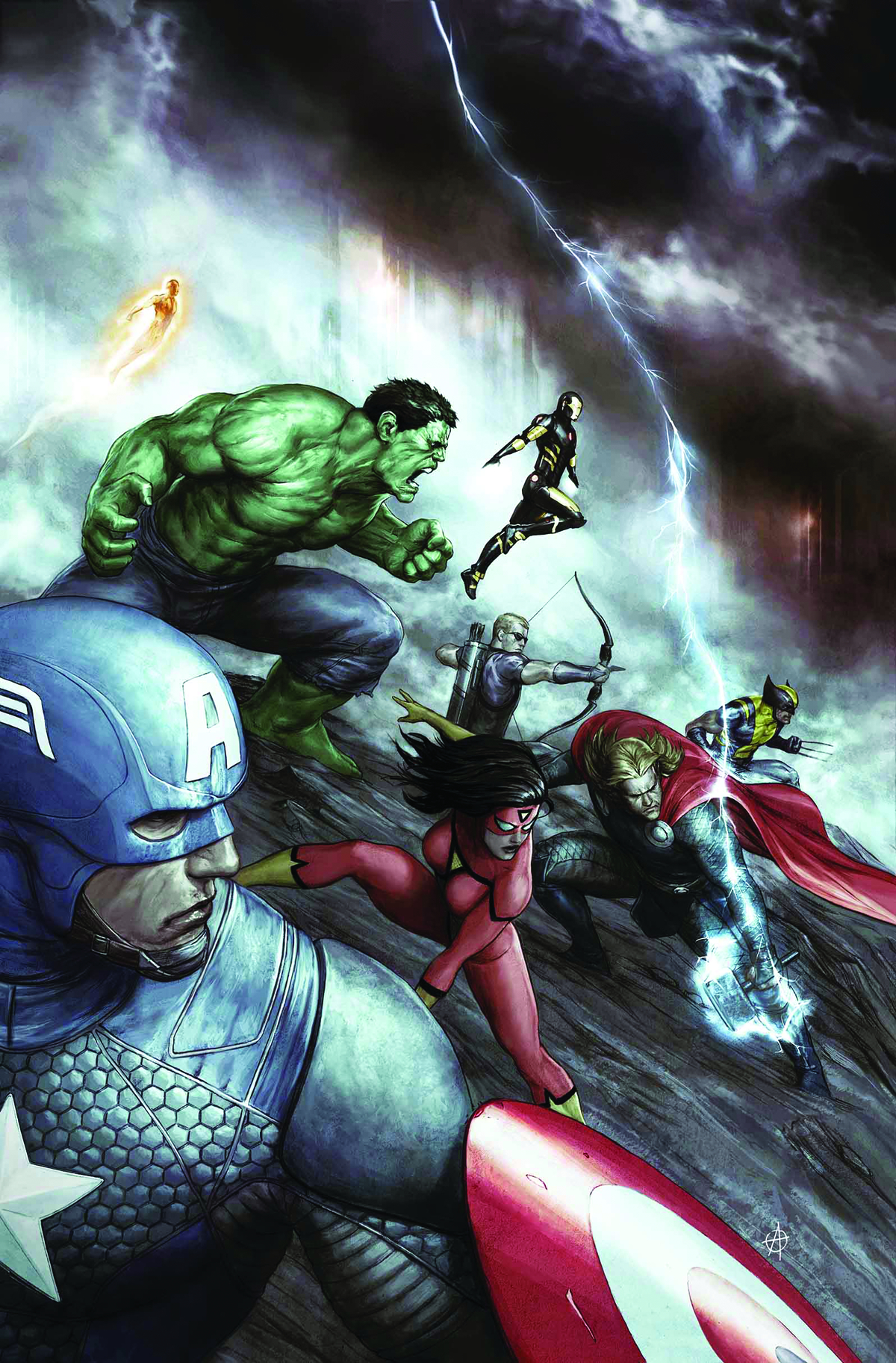 AVENGERS #24.NOW ALESSIO VAR ANMN