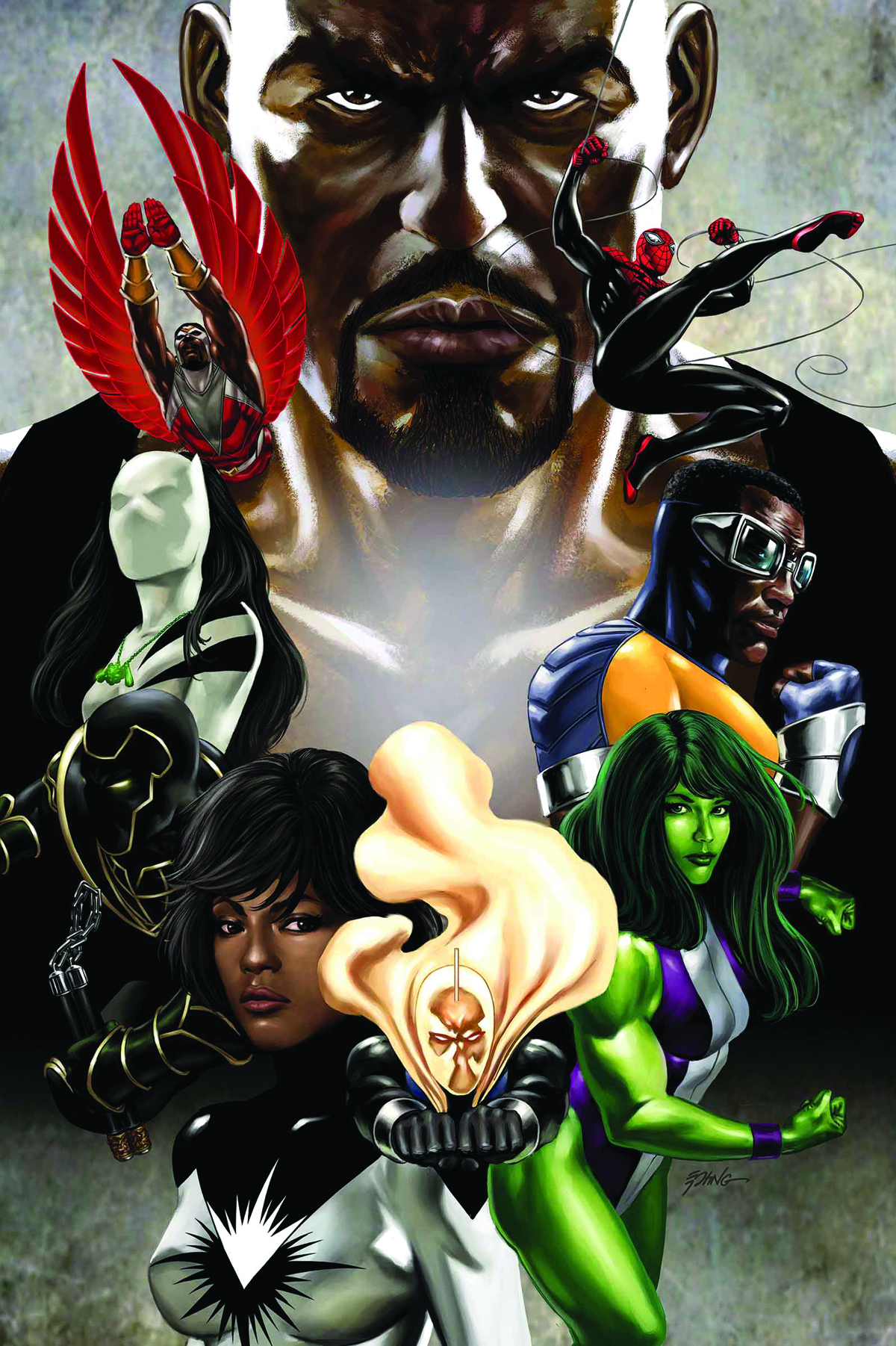 MIGHTY AVENGERS #4.INH EPTING VAR