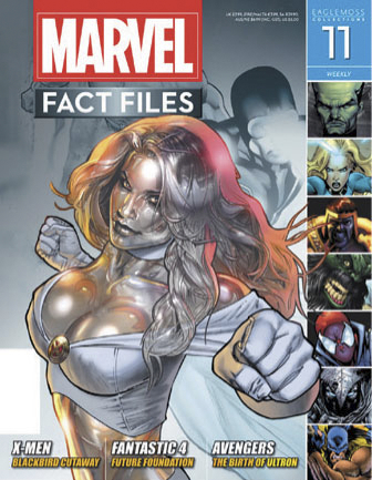MARVEL FACT FILES #11 EMMA FROST COVER