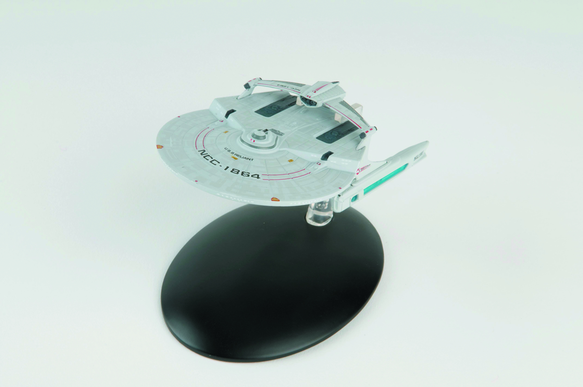STAR TREK STARSHIPS FIG MAG #11 USS RELIANT MIRANDA CLASS