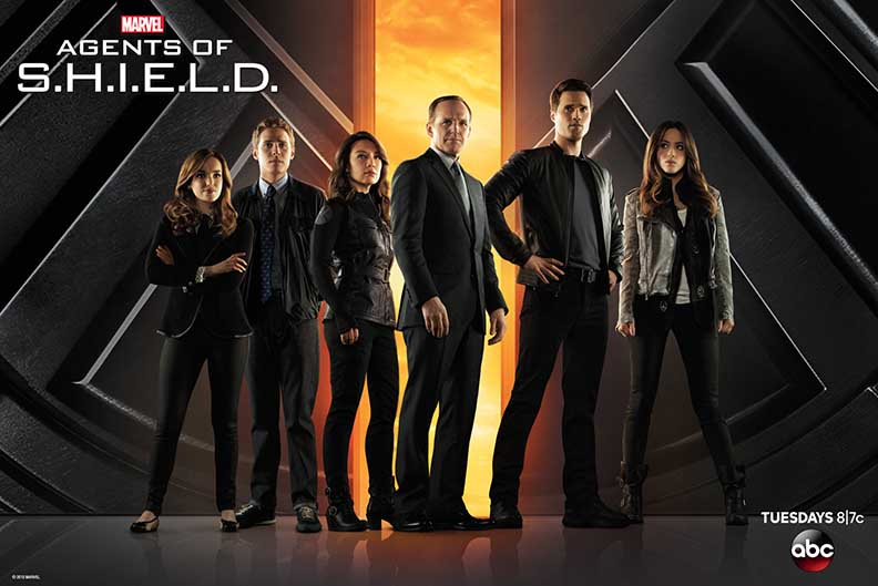 MARVELS AGENTS OF SHIELD POSTER