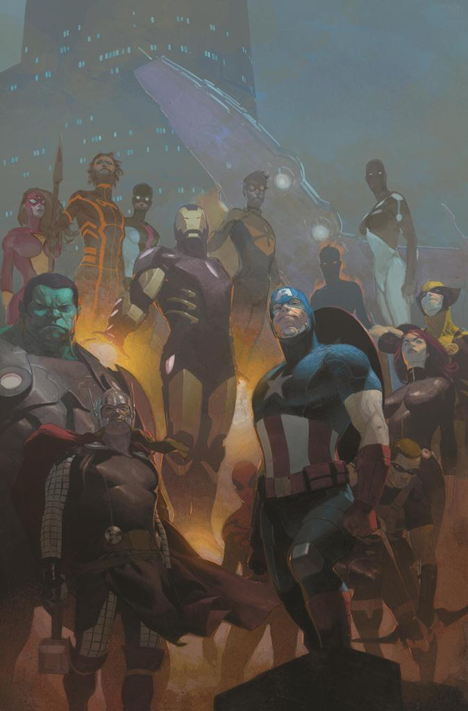 AVENGERS #24.NOW BY RIBIC POSTER