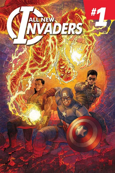 ALL NEW INVADERS #1 BY SINGH POSTER