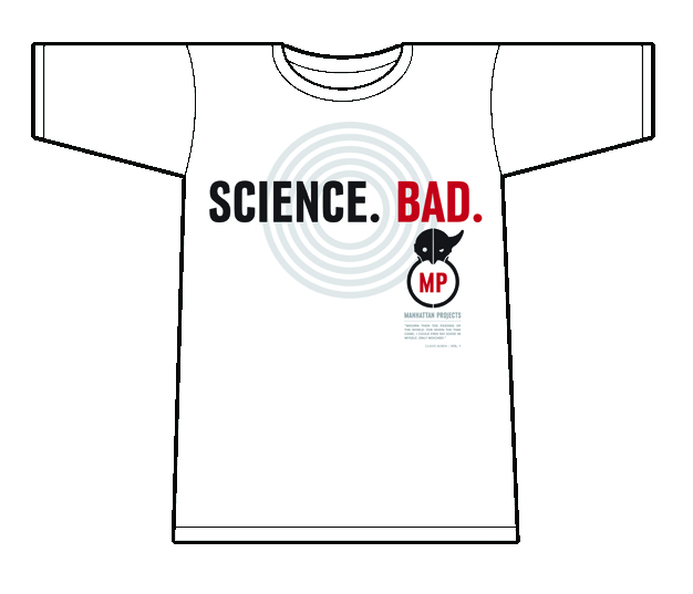 MANHATTAN PROJECTS T/S MENS WHITE LG