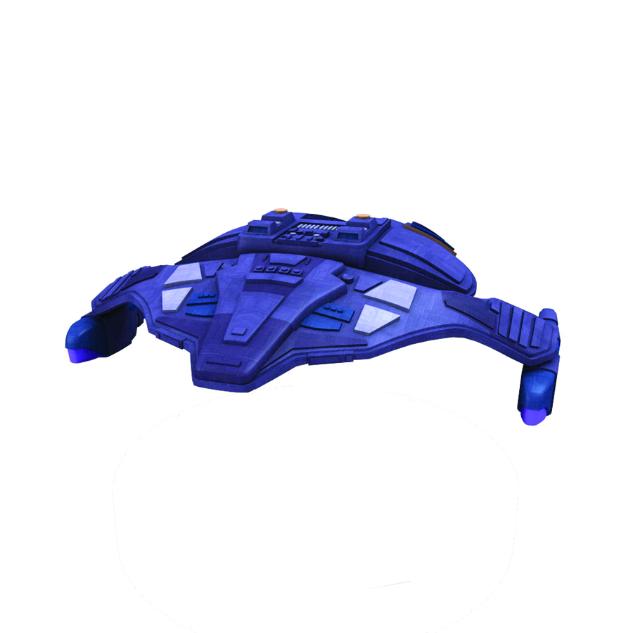 STAR TREK ATTACK WING 5TH WING PATROL SHIP 6 EXP