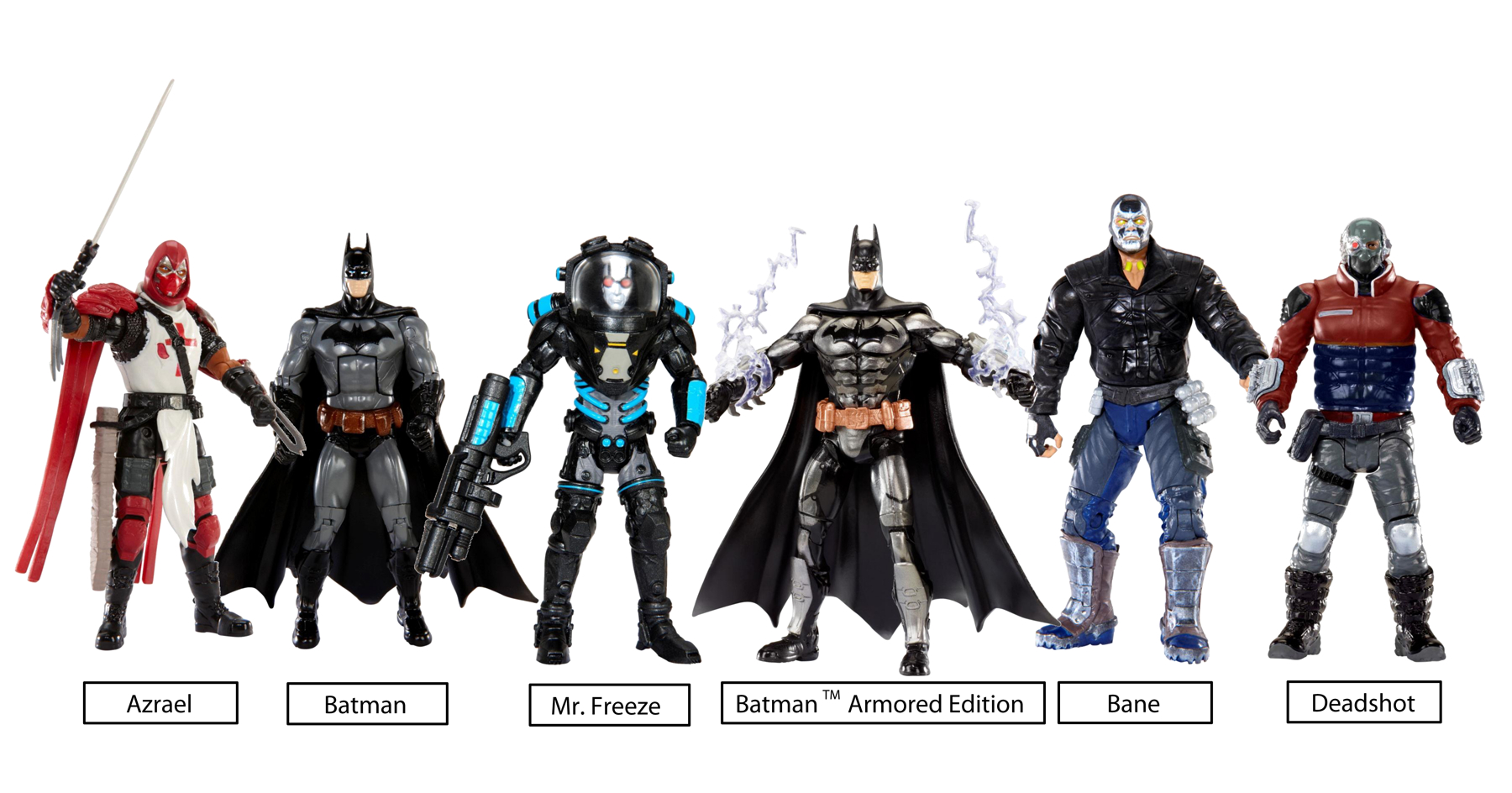 DC MULTIVERSE 4IN ARKHAM CITY ARM ED BATMAN AF