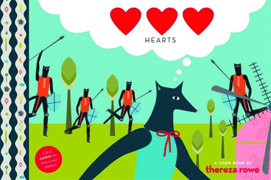 HEARTS TOON BOOKS YR HC GN