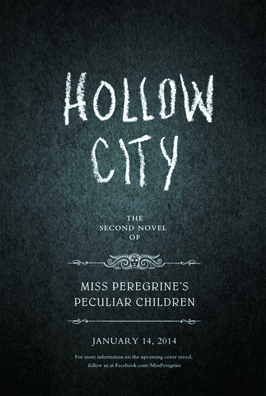 MISS PEREGRINES HOME PECULIAR CHILDREN HC BOOK 2 HOLLOW CITY