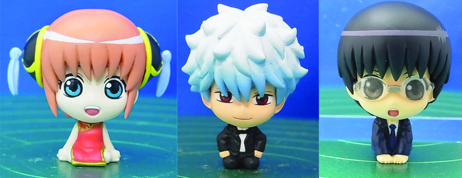 GINTAMA PETIT CHARA 3 IN ONE SET