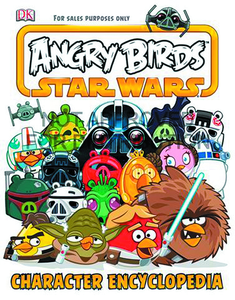 ANGRY BIRDS STAR WARS CHARACTER ENCYCLOPEDIA HC