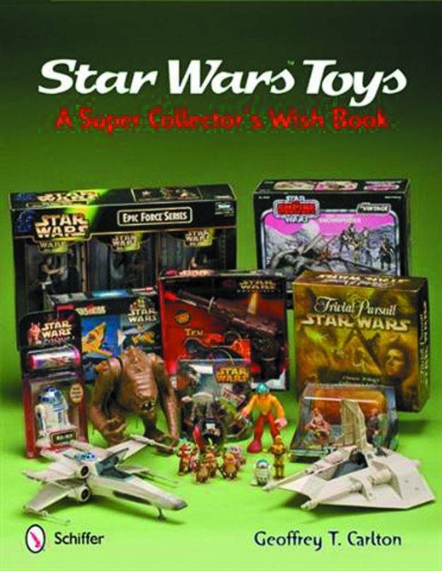 STAR WARS TOYS SUPER COLLECTORS WISH BOOK HC