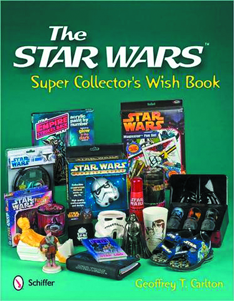STAR WARS SUPER COLLECTORS WISH BOOK HC