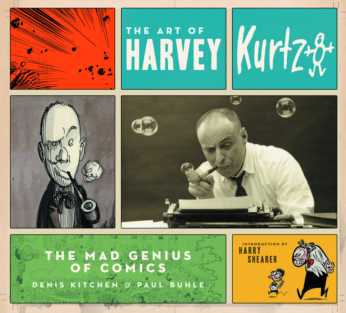 ART OF HARVEY KURTZMAN HC NEW PTG