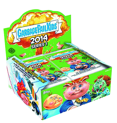 GARBAGE PAIL KIDS 2014 SERIES 1 T/C BOX