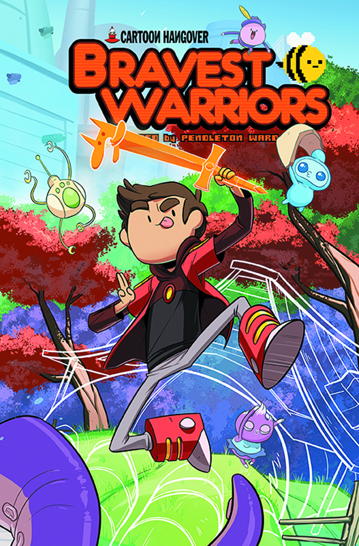 BRAVEST WARRIORS #16 MAIN CVRS