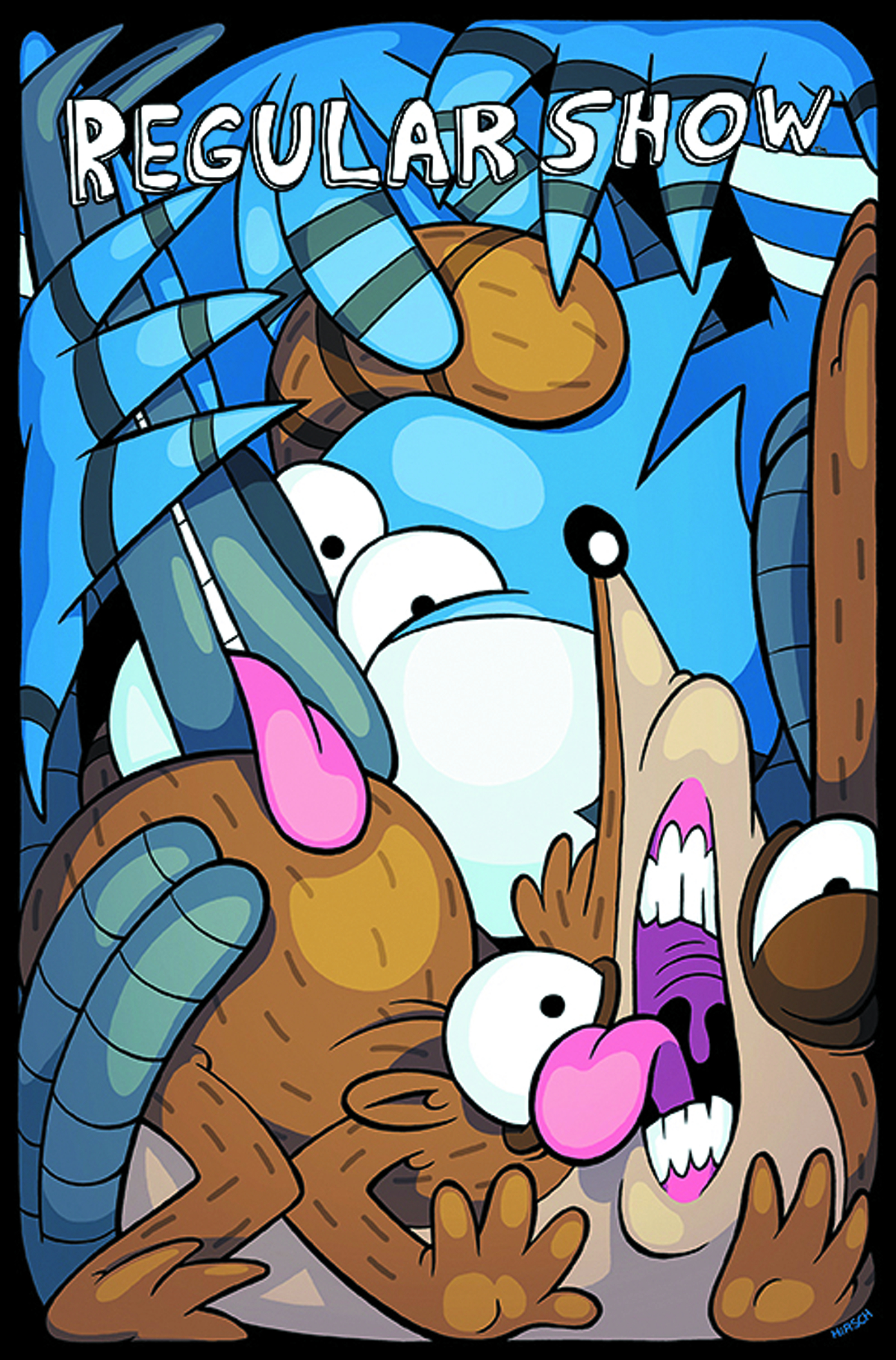 REGULAR SHOW #10 MAIN CVRS