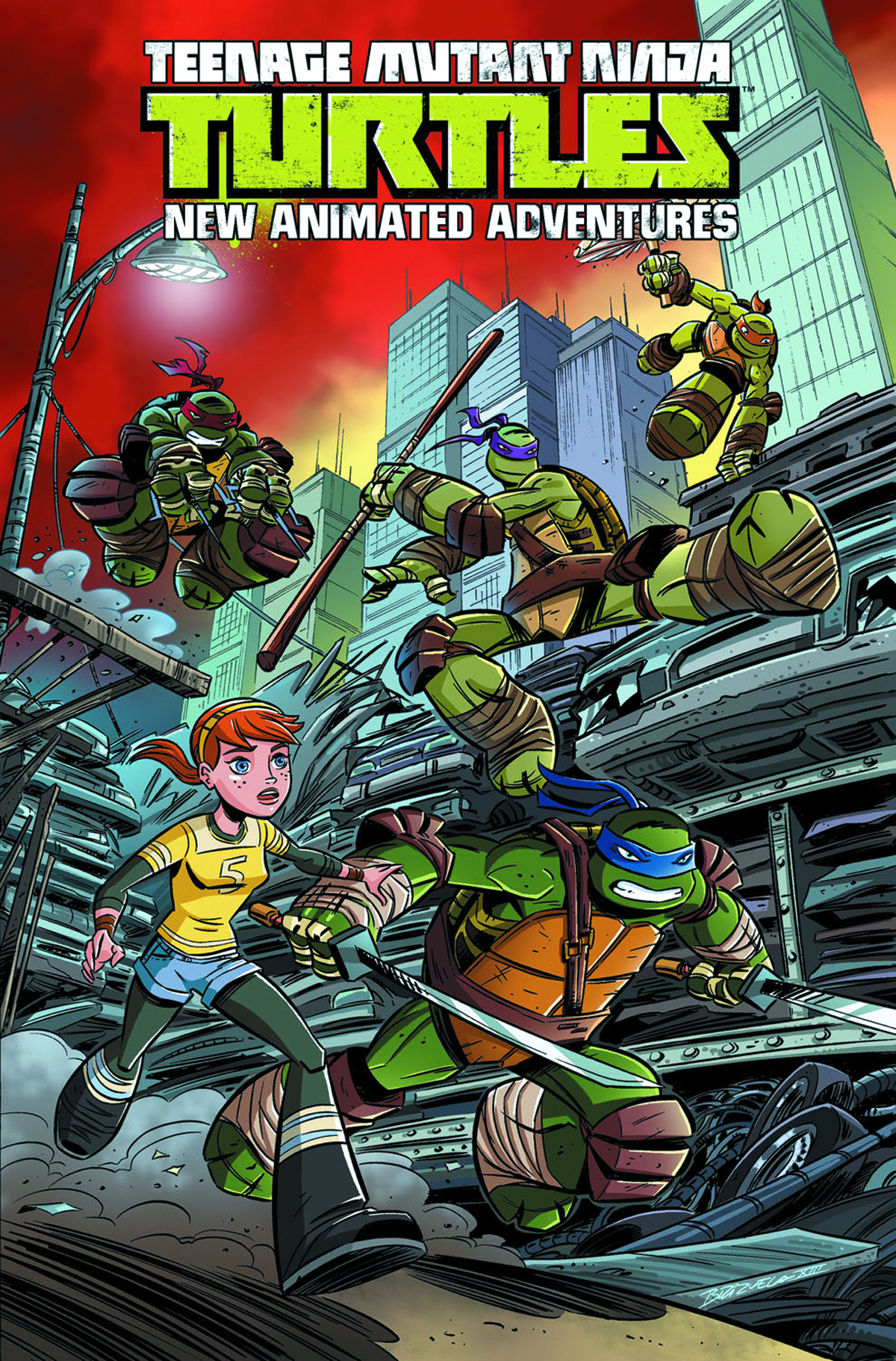 TMNT NEW ANIMATED ADVENTURES TP VOL 01
