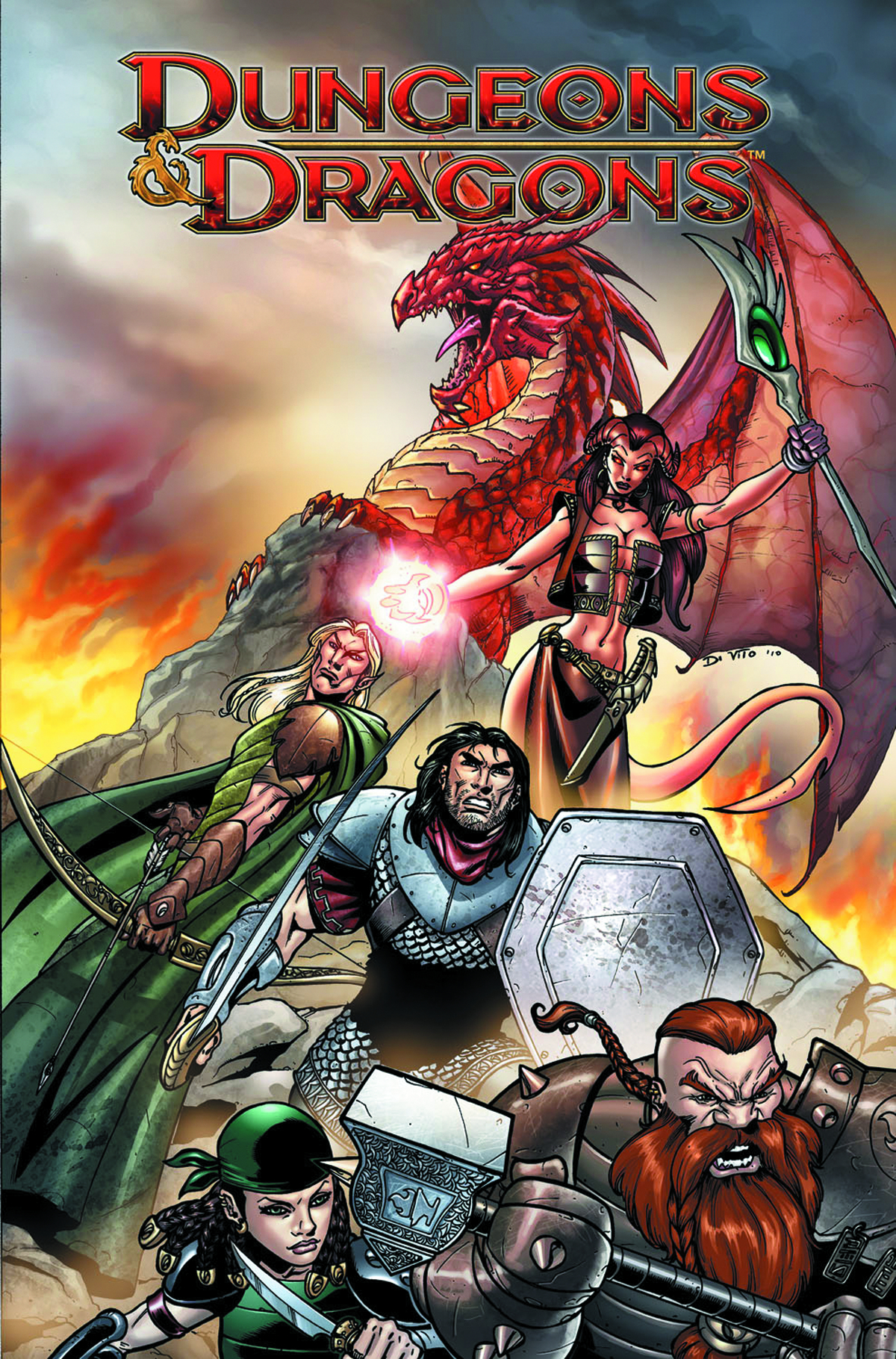 DUNGEONS & DRAGONS FELLS FIVE HC