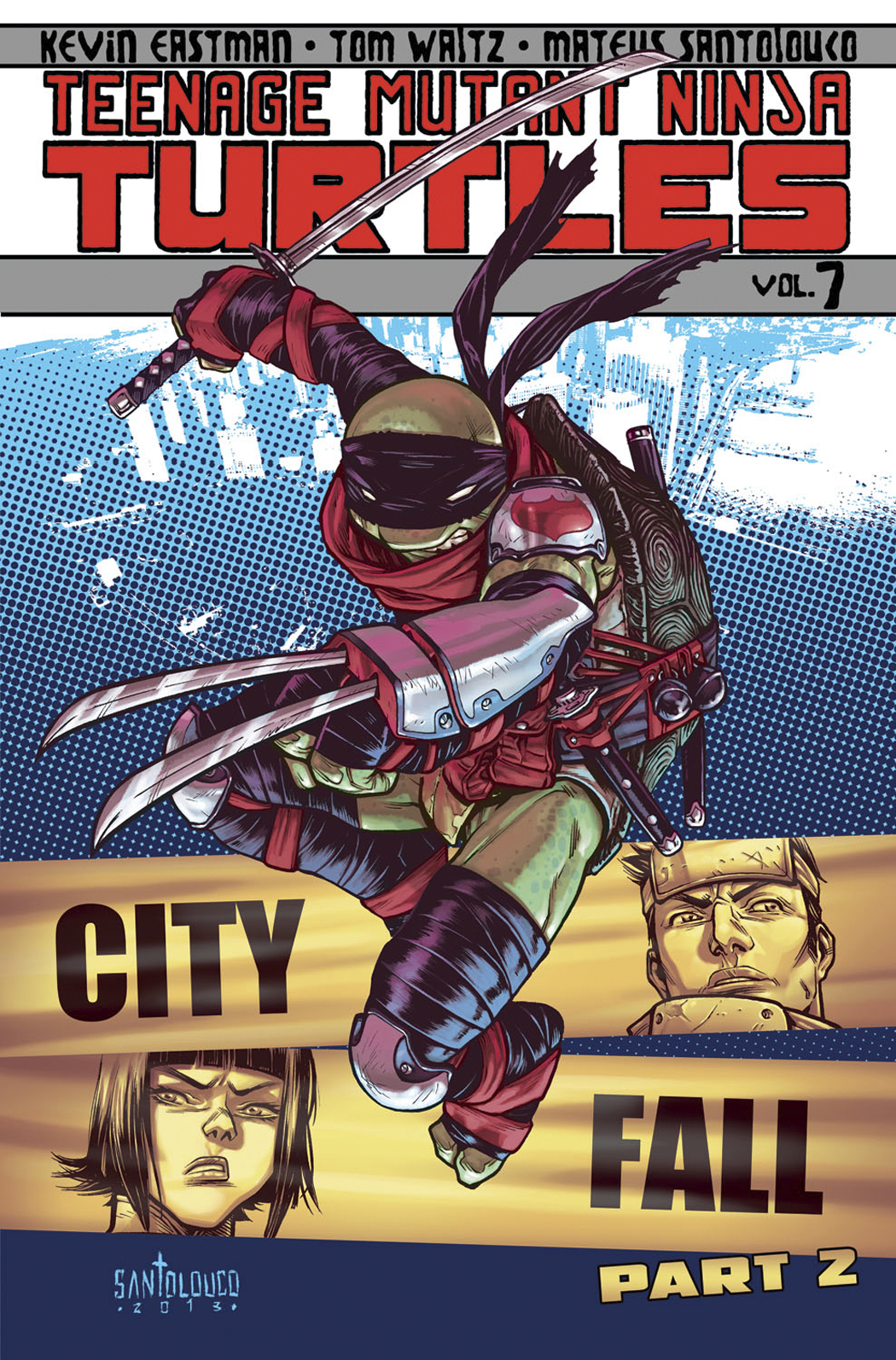 TMNT ONGOING TP VOL 07 CITY FALL PT 2